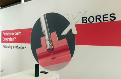 X-BORES on Display at Deburring Expo